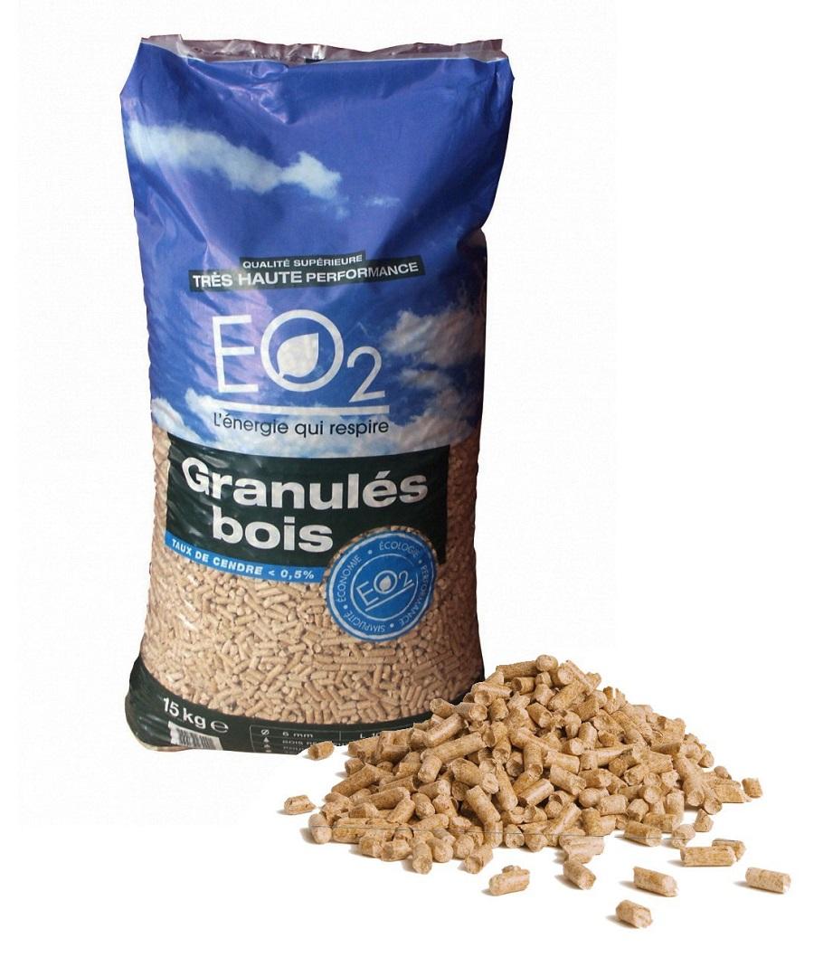 Granul s de bois eo2 gm distribution - Granules de bois bricomarche ...